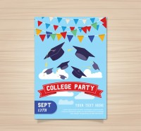 Graduation party Brochure