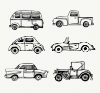 Hand painted vehicle design