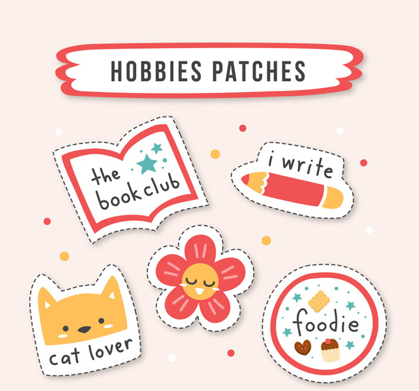 Hobby Patch Badge
