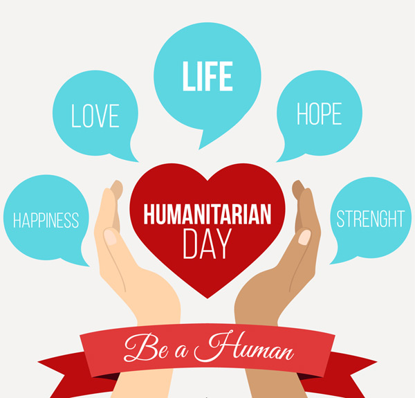 Humanitarian Day cards