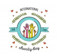 International Charity Day card