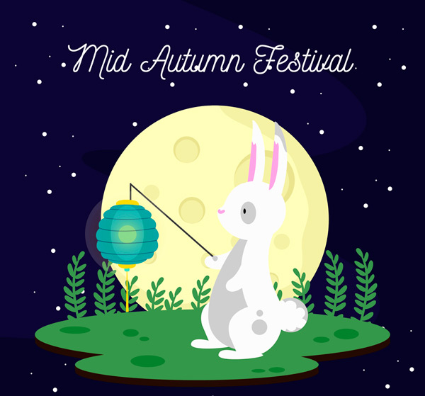Mid Autumn Festival Lantern rabbit