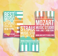 Music Studio Brochure