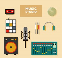 Music studio equipment