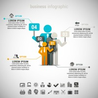 Paper business information map