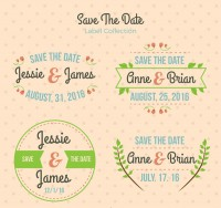 Plant wedding label
