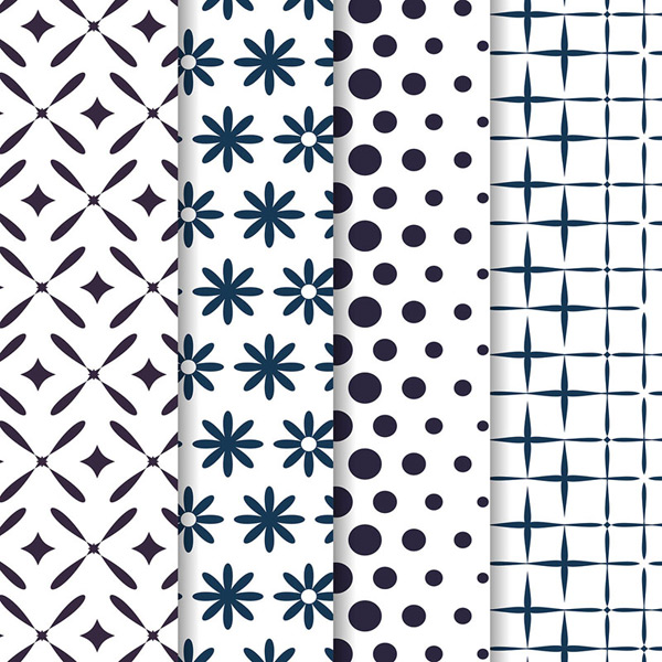 Seamless background of pattern design