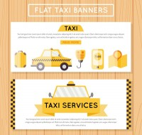 Taxi element banner