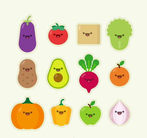 Vegetable and fruit expression