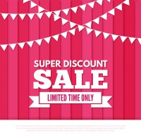 Vertical line promotional posters
