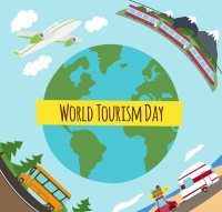 World Tourism Day card