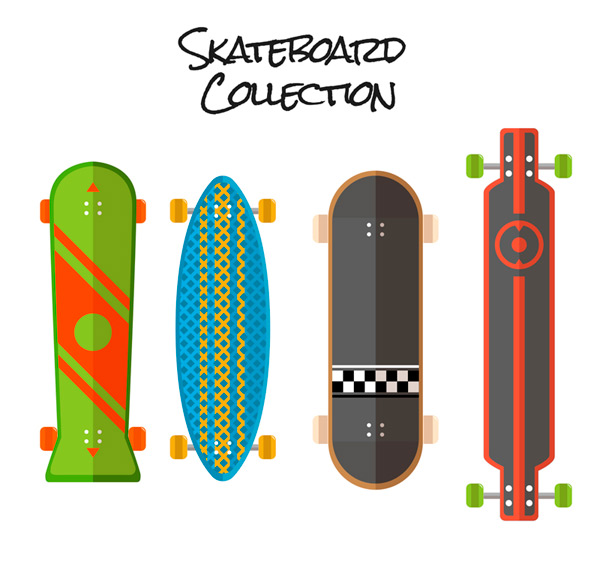 4 Fashion skateboard