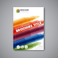 Abstract graphic business picture book