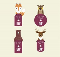 Animal decoration discount label