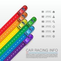 Automobile business information map