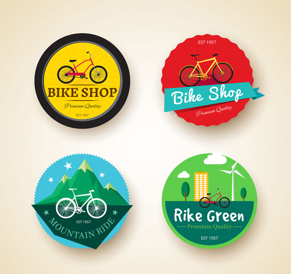 Bicycle element label