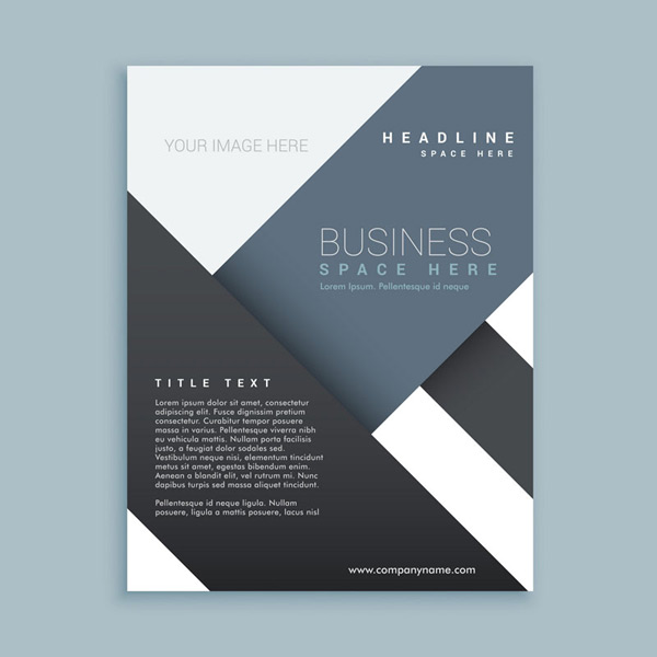 Black business Brochure