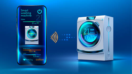 Black technology intelligent washing machine