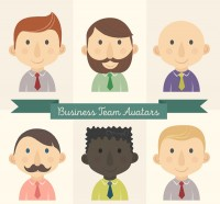 Business team boy Avatar