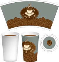 Coffee cup packing