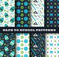 Color back to school elements