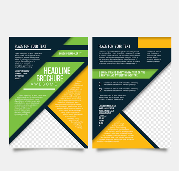 Color business Brochure