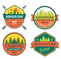 Color field adventure labels