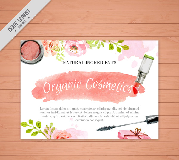 Cosmetic leaflets