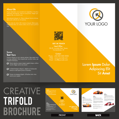 European and American style leaflets