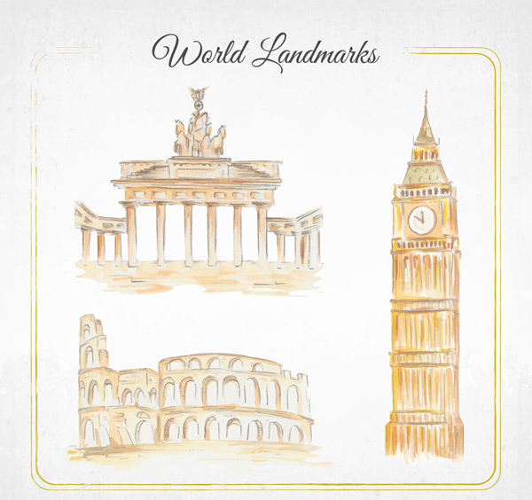 Famous buildings over the world