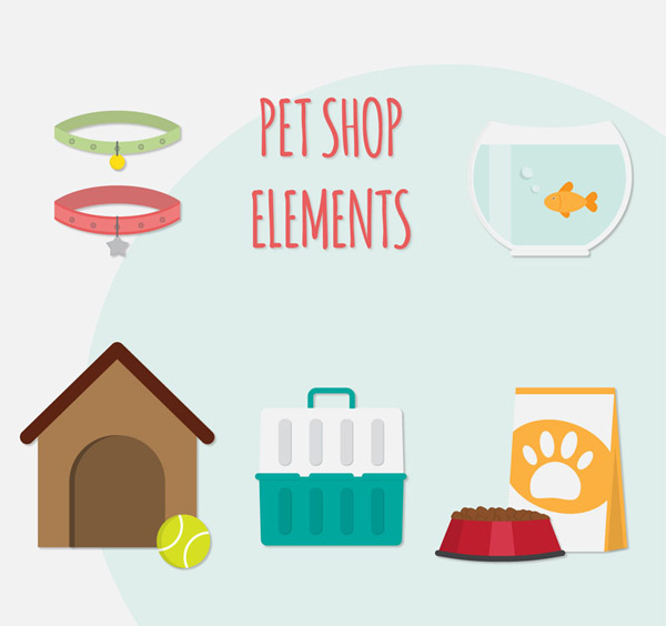 Flat pet products