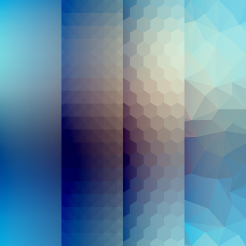 Fuzzy background of abstract pattern