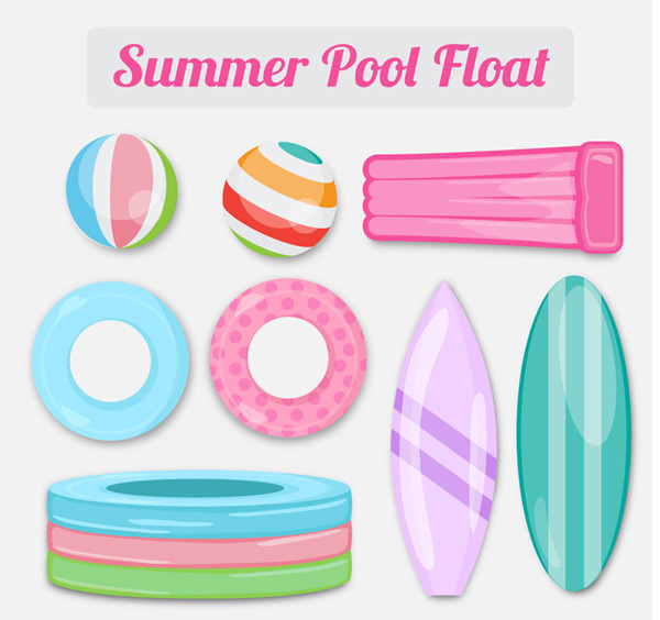 Inflatable toys for swimming pool