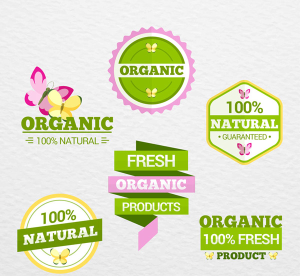 Labeling of organic products