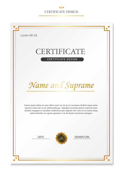 Letter of authorization and certificate