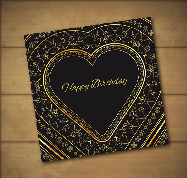 Love birthday card