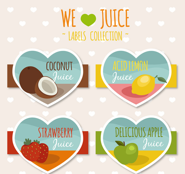 Love juice label