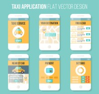 Mobile taxi application