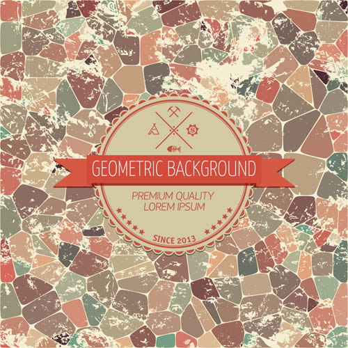 Mosaic element background