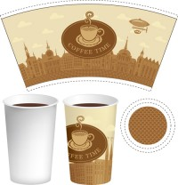 Paper cup packaging