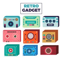 Retro electronic products