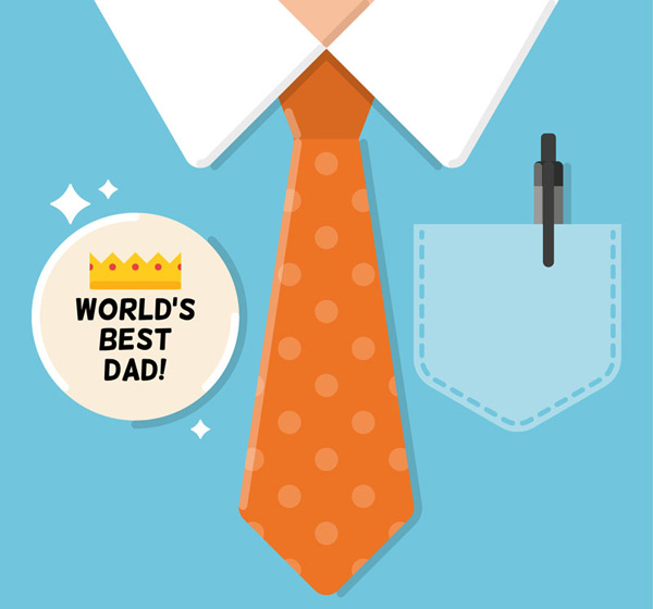 Shirt father s Day card