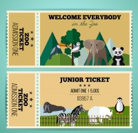 Single ticket for zoo