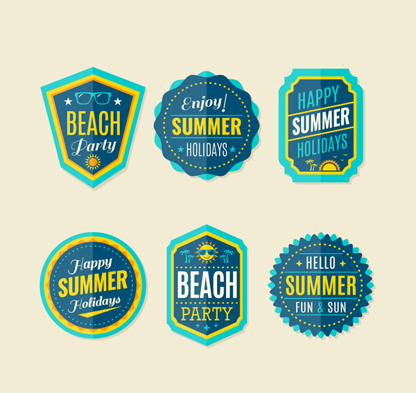 Summer holiday Tags