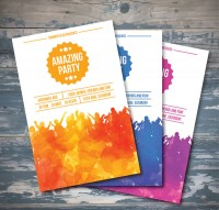 Summer party Brochure