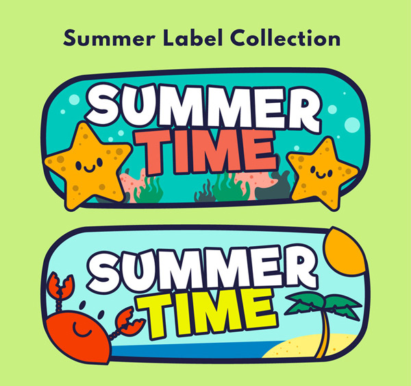 Summer time tags