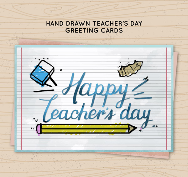 Teacher s Day blessing card