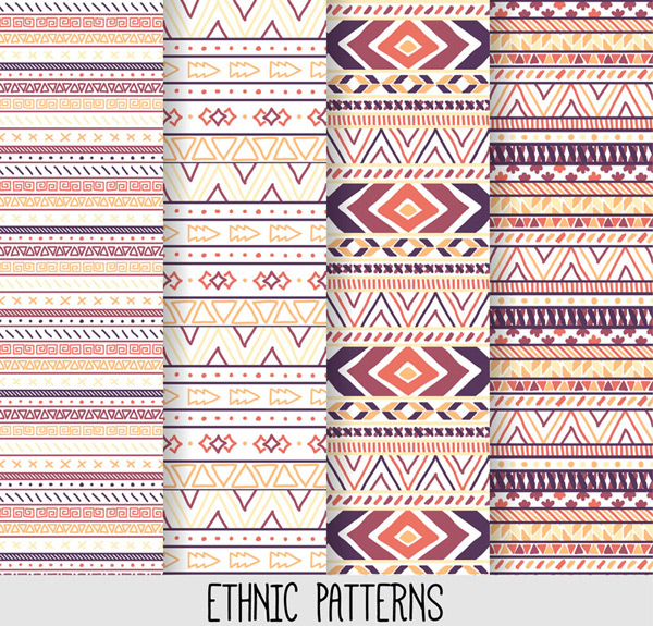 Tribal ethnic pattern background