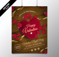 Valentine s party Brochure