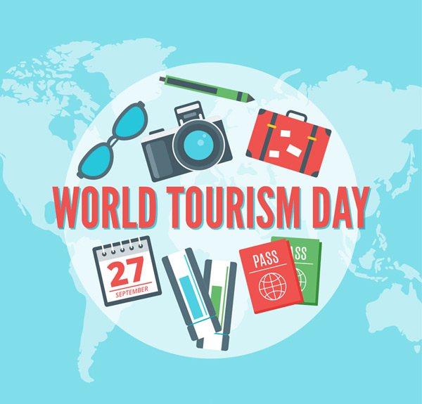 World Tourism Day elements